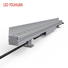 24W Outdoor IP67 Aluminum Alloy Toughened Glass 24VDC niche battery powered led wall washer light