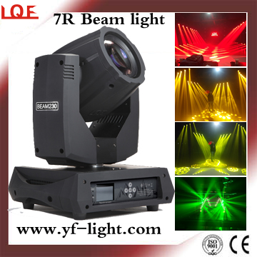 High Quality 7r 230w Beam Moving Head from China