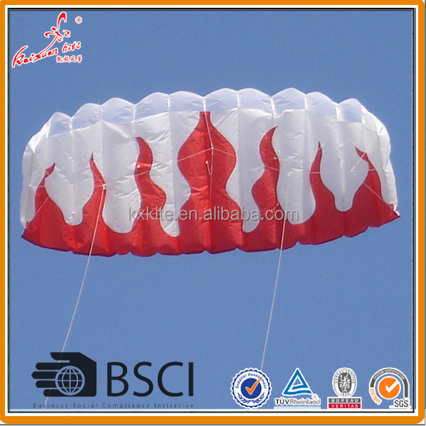 Fire flame power kite from weifang Kite factory