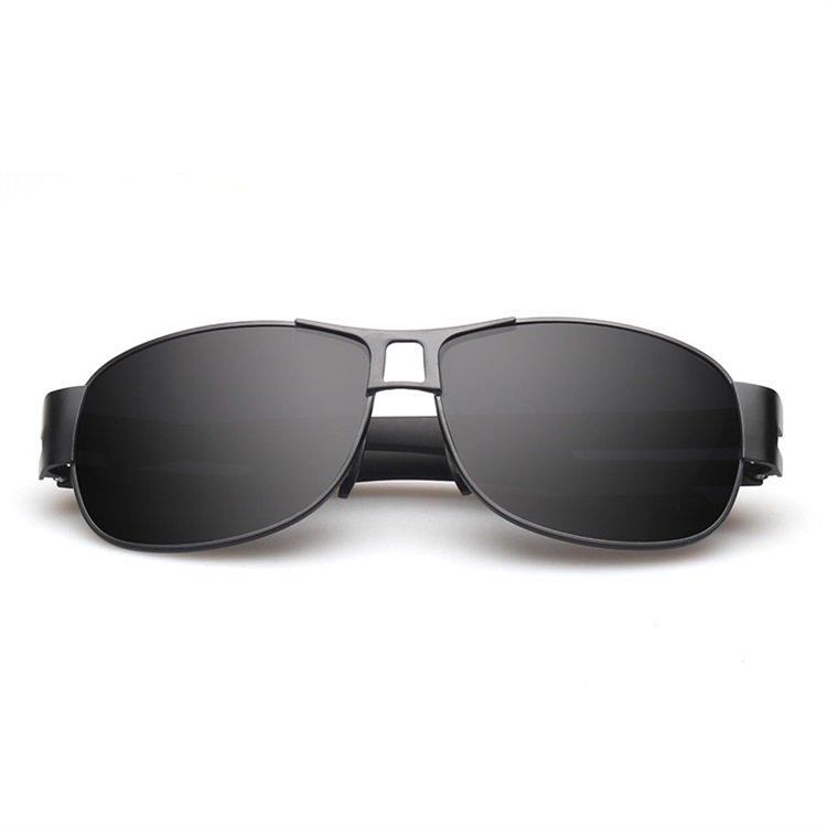 Latest design cheap classic black polarized funky sunglasses