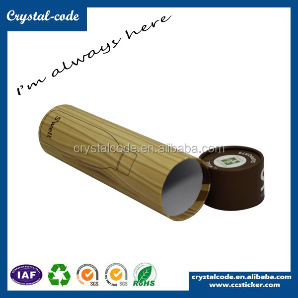 Hot sale cardboard cylinder wine gift box paper tube canisters