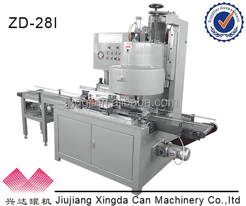ZD-28I Automatic Square Can Sealing Machine Type 18L Tin oil Can Machine