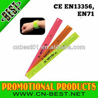 EN13356 Reflective Safety Slap Bracelet