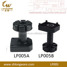 High Quality Plastic Cabinet Leg Adjustable