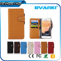 All Mobile Brands Mobile Phone For iPhone 7 Plus Wallet Case,High End Genuine Flip Leather Cover Case For Apple iPhone 7 7 Plus