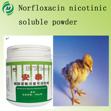 Hot sale Norfloxacin nicotinic soluble powder Antibiotic Soluble Powder & Feed Premix