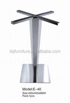 stainless steel table base for coffee shopwestern restaurant lqe040