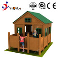 2018 New style kids play house wooden outdoor playground equipment