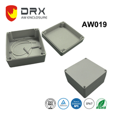 Square Electrical IP67 Aluminum Waterproof Junction Box for Power Supply