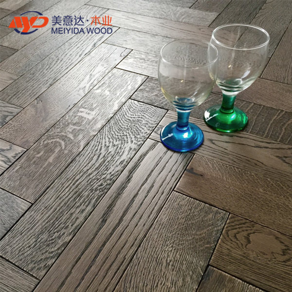 Parquet 18mm Barn Oak Brushed Matt Lacquer Engineered wood flooring