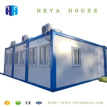 Heya prefab expandable steel container homes house plans
