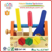 Portable Baby's Wooden Spare Parts Box Tool Toys for kids