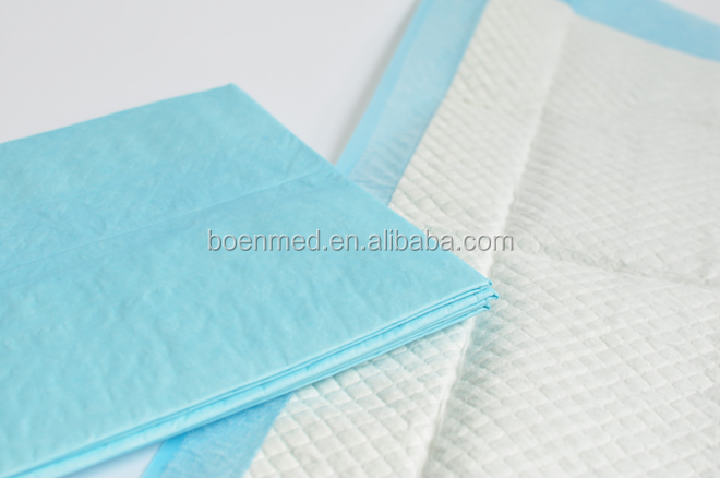 Medical Blue Chucks Absorbent Pads