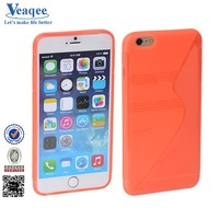 Veaqee 2015 candy color tpu gel soft cover faceplate for iphone 5