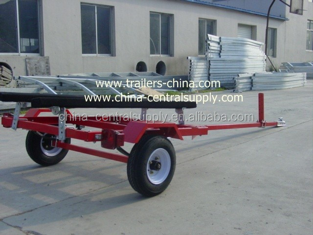 Manufacturer /Factory Supply light duty cheaper trailer 3.6m Jet ski trailer with bunks system CT0031B
