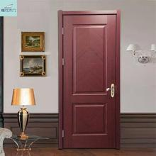 New products 2017 Interior PVC wood door best quality promotional