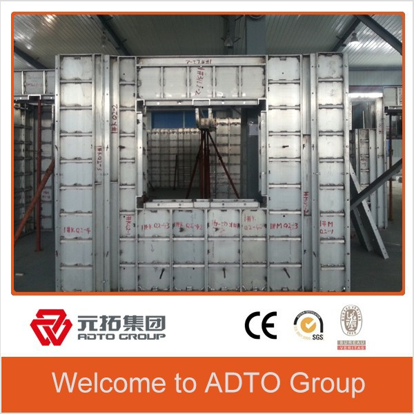 ADTO OEM manufacturer hot sell plastic shuttering formwork panel for concrete