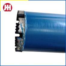 High quality long duration time core drill bit lengths