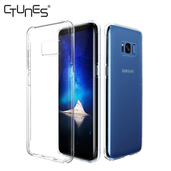 For Samsung Galaxy S8 Plus Cover,Crystal Clear Shock Absorption Bumper Soft TPU Cover Case for Samsung Galaxy S8 Plus 2017