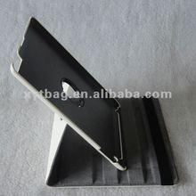 Elegant style white color leather tablet case cover for ipad 2/3