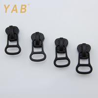 YAB Factory Design ISO9001 Russian Market Auto Lock Personalized Handbag Zipper Pulls