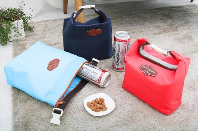 Picnic Insulated Lunch Bag Large Built Box Container Cooler Thermal Waterproof Tote Lunchbox BB117-SZ+
