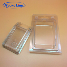 clear PVC PET clamshell blister package
