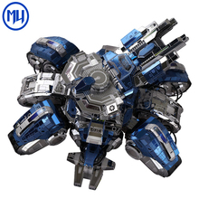 MU 3D diy metal puzzle Starcraft Siege Edition Tank Model kit diy Metal Jigsaw Model toys for Adults educational