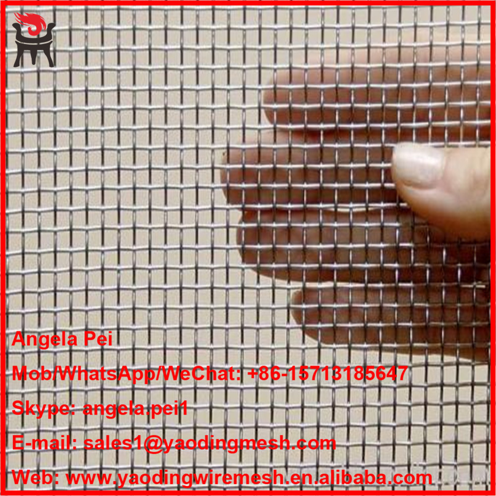plain weave stainless steel 304 wire mesh for construction