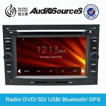 "in dash dvd & gps head unit for car Peugeot 307 with 7"" HD digital TFT touch screen"
