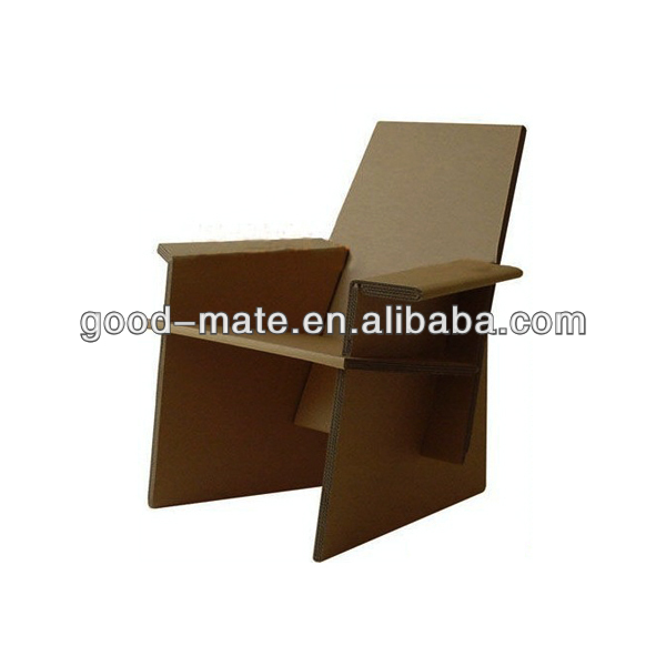 Folding Cardboard Chair Corrugated Cardboard Furniture