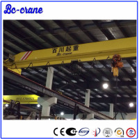 KBK Model European style traveling double girder light Bridge Cranes