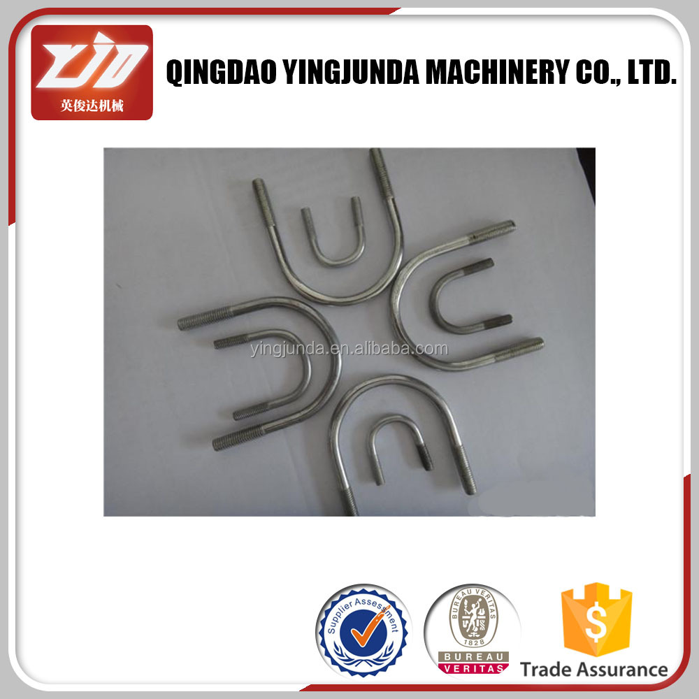 Various iron bolts and nuts U bolt with nuts factory price