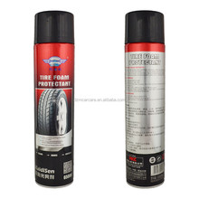 FORCAR1 polishing silicone tire shine wash tyre foam cleaner spray for car care products