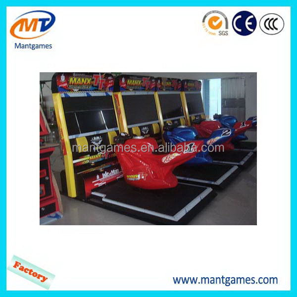 Modern TT moto/special funny arcade motor racing game machine