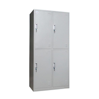 Modern office hot selling 4 door metal storage cabinet
