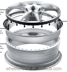 3pcs forged alloy wheels rims,customer designs,2pcs forged wheels