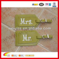 Leather luggage tags wedding favor Bag Parts & Accessories