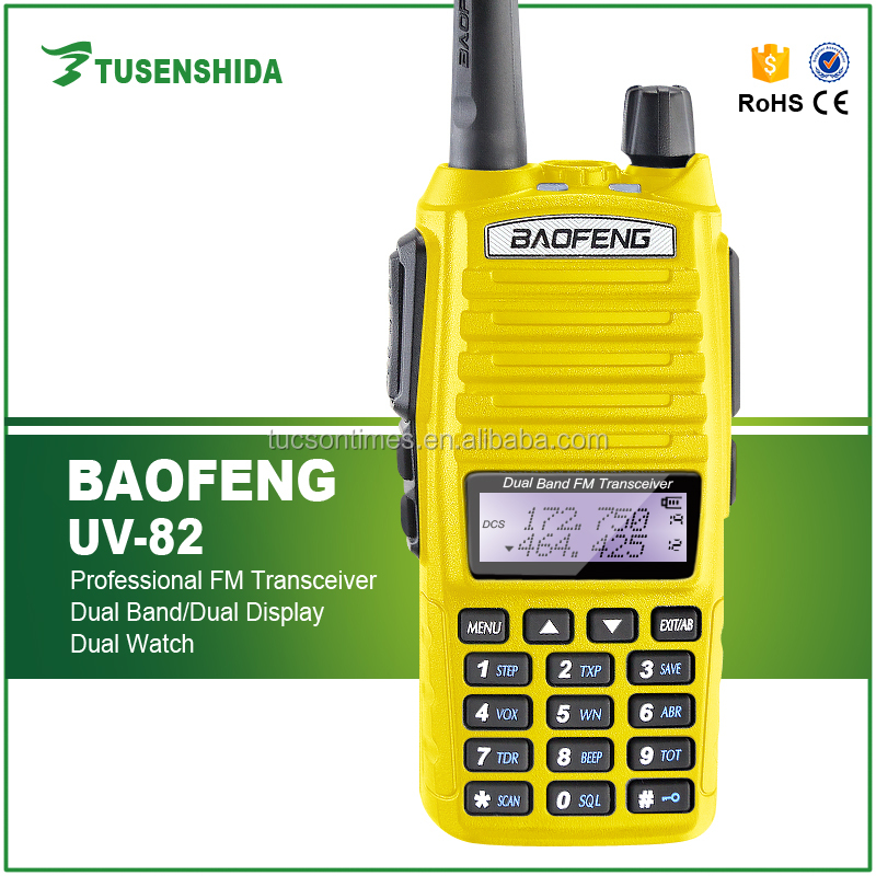 Newest Radio Baofeng BF-UV82 Dual Band FM Transceiver 8w Walkie Talkie