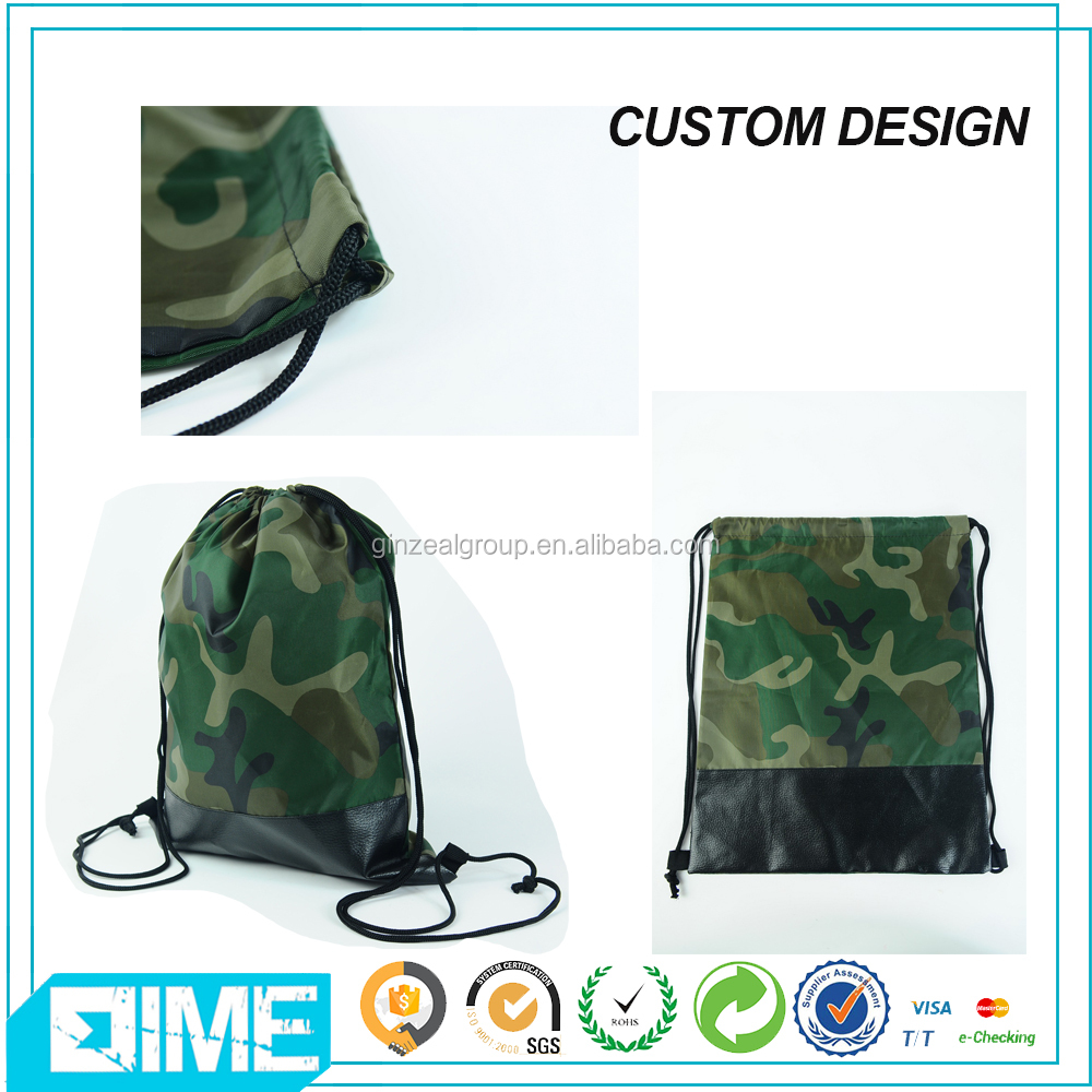 Alibaba China Manufacturer Nylon Bag With Front And Side Pocket