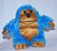 Small MOQ custom stuffed custom plush orangutan monkey toy plush gorilla