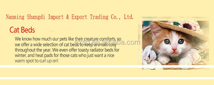 S&D China high quality new arrival latest design cheap rattan cat house dog house for sale