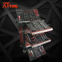 220PCS Heavy Duty Mechanic Kraftwelle Tool Trolley Tool box Cabinet Trolley for Car
