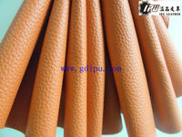 Hot selling PVC 0.7mm leather with knitted backing for sofa