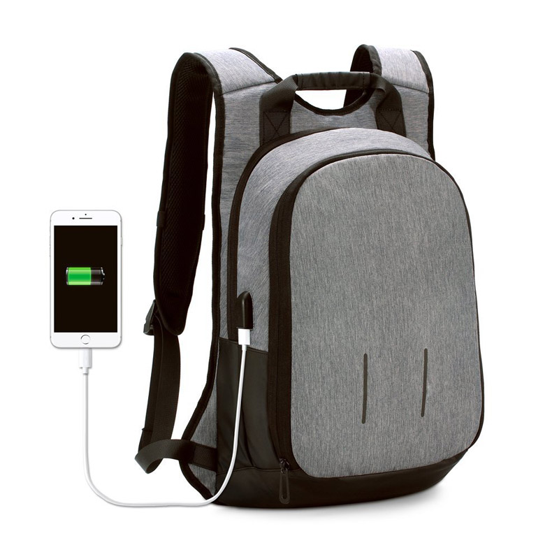 15 Inch Laptop Backpack Business Travel School Bag with USB Charging Port for MacBook Pro 15 and Other Laptop up to 15.6