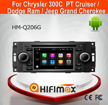 Hifimax Andrio 7.1 Car DVD Radio For Jeep Grand Cherokee GPS With canbus 2G RAM 16G Flash HD