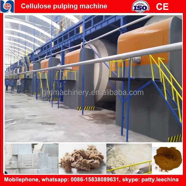 recycling paper Type and New Condition Cellulose Fibre Making machinery