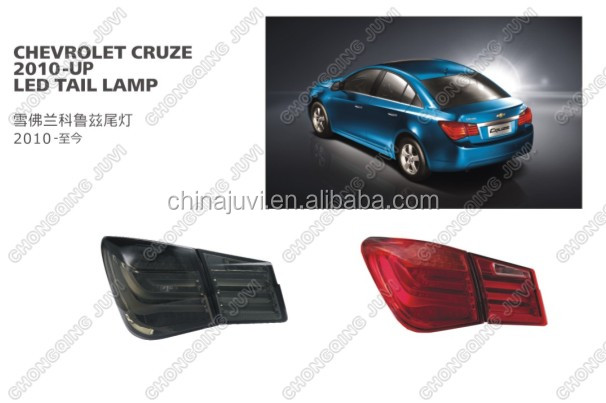 For CHEVROLET CRUZE LED TAIL LAMP,Car Accessaries parts,2010-UP MODIFY LAMP/LIGHTS,angel eye,white