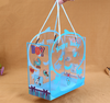PVC custom transparent plastic packaging box baby bottle tote bag