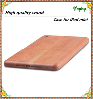 Factory price Hard Bamboo & Wooden Cover Case for ipad mini, for ipad mini wood